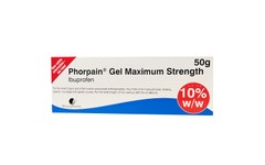 Phorpain Maximum Strength Ibuprofen Gel 50g