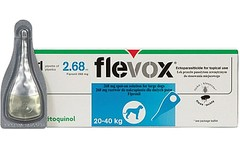 Flevox Spot on Large Dog 20 - 40kg 2.68ml